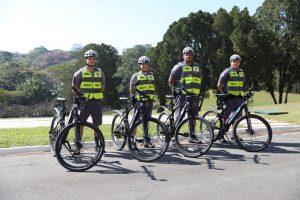 Policiais da Berrini usam Bike elétrica para fazer ronda