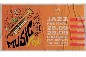 Jazz session no Parque do Povo